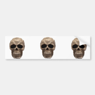 Celtic Skull Bumper Sticker