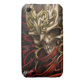 Celtic Skull iPhone 3 Case