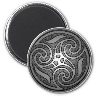 Celtic Spiral 6 Cm Round Magnet
