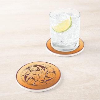 Celtic Spiral Coaster