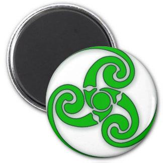 Celtic Spiral Fridge Magnets