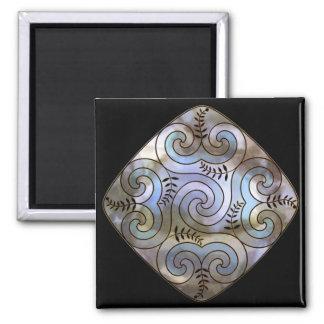 celtic spiral shield fridge magnets