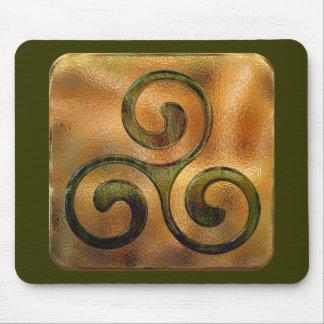 celtic spirals mouse pad