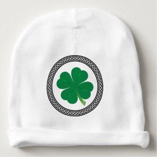 Celtic St. Patrick's Day Shamrock Beanie Baby Beanie