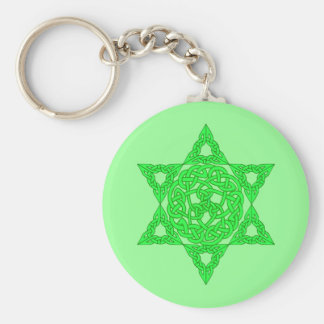 Celtic Star of David Keychain