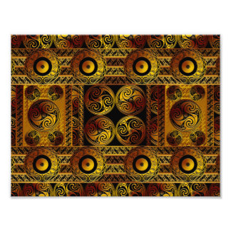 Celtic Style Art Print Photo Print