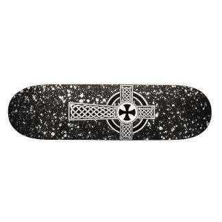Celtic Sun Cross Skateboard Deck