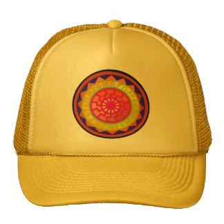 Celtic Sun Rune Calendar Symbols Mesh Hat