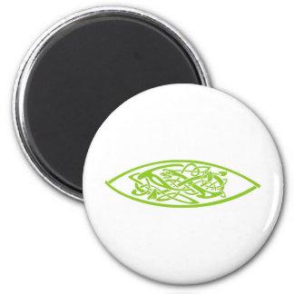 Celtic Surfboard Magnet
