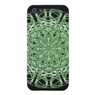 Celtic Swirl Mandala iPhone 5 Cases