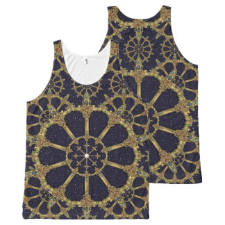 Celtic Swords complex Night Sky All-Over Print Singlet