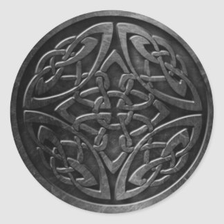 Celtic Symbol 2 Sticker,  3 inch (sheet of 6) Classic Round Sticker
