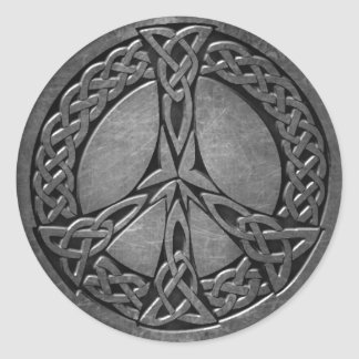 Celtic Symbol 5  Sticker, 3 inch (sheet of 6) Classic Round Sticker