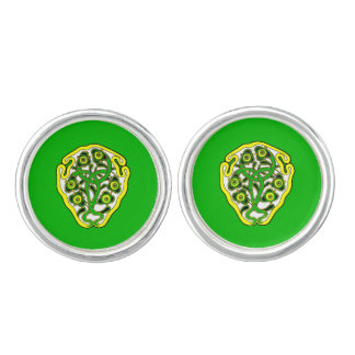 Celtic symbol cuff links