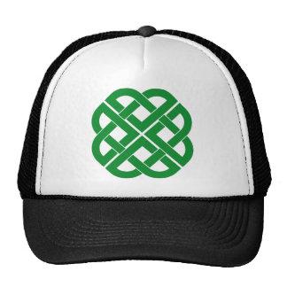 Celtic symbol mesh hats