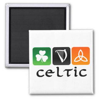 Celtic Symbols Refrigerator Magnet