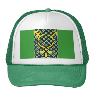 Celtic Transgender Symbol Yellow Cap