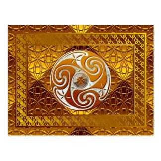 """""""Celtic Treasure"""" Art Postcard"""