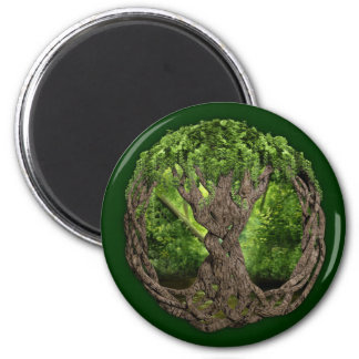 Celtic Tree Of Life Refrigerator Magnet