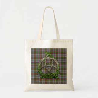 Celtic Trinity Knot And Clan Anderson Tartan