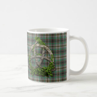Celtic Trinity Knot And Clan Craig Tartan Coffee Mug