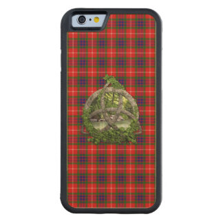 Celtic Trinity Knot And Clan Fraser Tartan Maple iPhone 6 Bumper Case