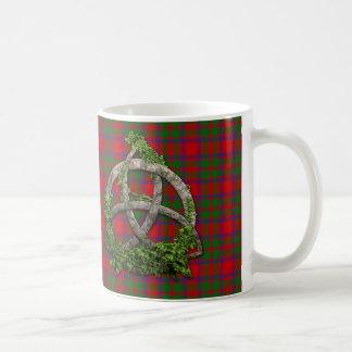 Celtic Trinity Knot And Clan MacIntosh Tartan Coffee Mug