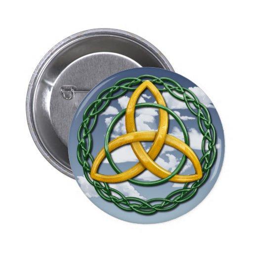 Celtic Trinity Knot Pinback Button