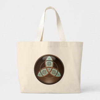 Celtic Trinity Knot Tote Bags