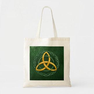 Celtic Trinity Knot Budget Tote Bag