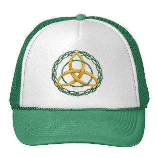 Celtic Trinity Knot Cap