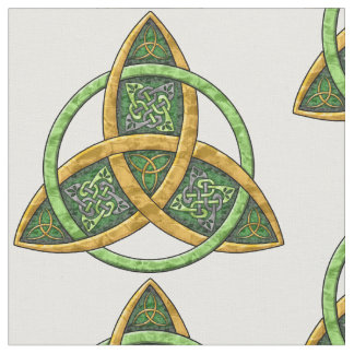 Celtic Trinity Knot Fabric