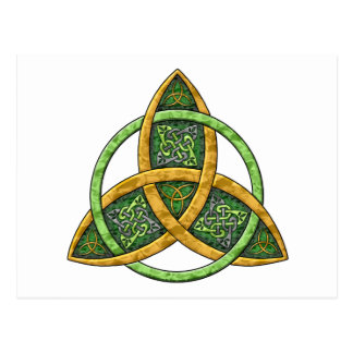 Celtic Trinity Knot Post Cards