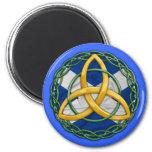 Celtic Trinity Knot Refrigerator Magnets