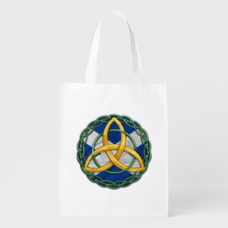Celtic Trinity Knot Grocery Bags