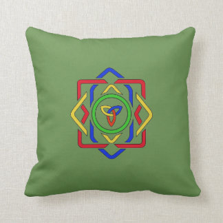 Celtic Trinity Knot Reversible Cushion