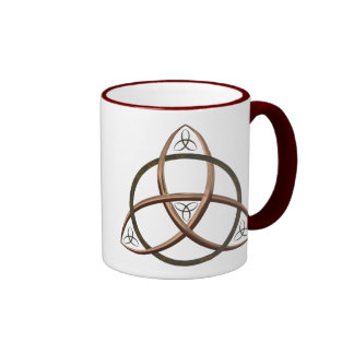 Celtic Trinity Knot Ringer Mug