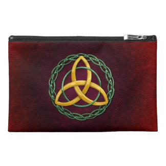 Celtic Trinity Knot Travel Accessory Bag