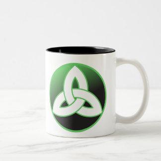 Celtic Trinity Knot Up Coffee Mug