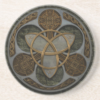 Celtic Trinity Shield Coaster