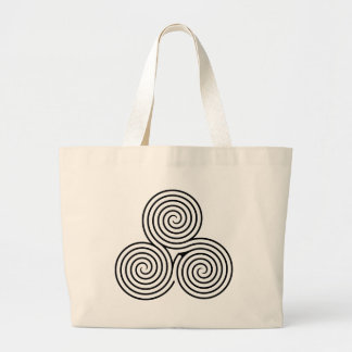 Celtic Triquetra Knot II Tote Bags