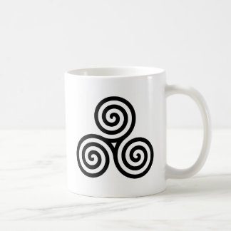 Celtic Triquetra Knot II Coffee Mugs