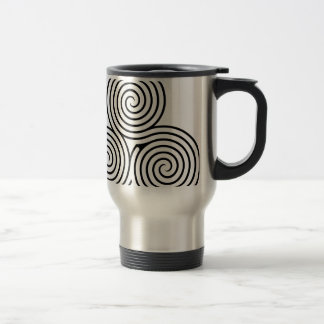 Celtic Triquetra Knot II Mugs