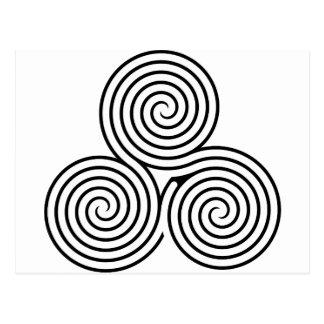 Celtic Triquetra Knot II Postcards