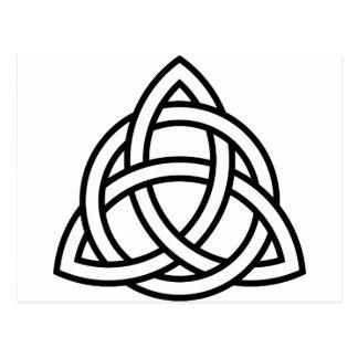 Celtic Triquetra Knot IV Postcard