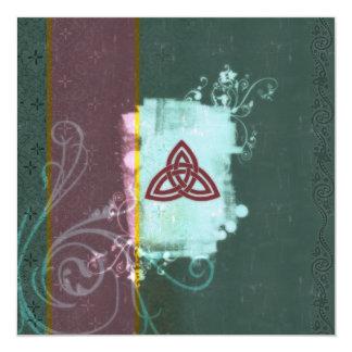 Celtic Triskel Card
