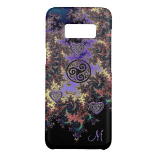 Celtic Triskele Fractal Heart Knots Case-Mate Samsung Galaxy S8 Case