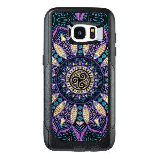 Celtic Triskele Mandala Galaxy Edge 7 Case
