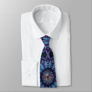 Celtic Triskele Mandala Tie