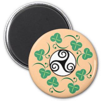 Celtic Triskell 6 Cm Round Magnet